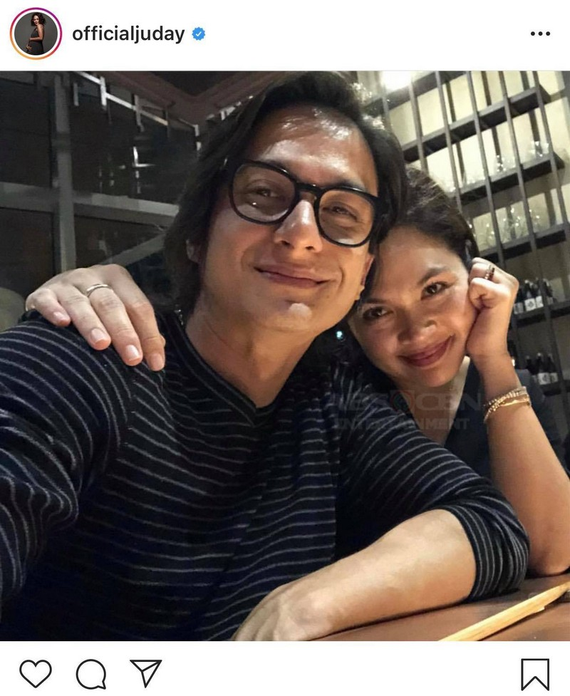 Photos of Judy Ann Santos with her husband Ryan Agoncillo